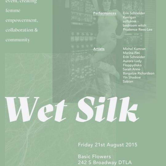 wet silk los angeles aurora lady