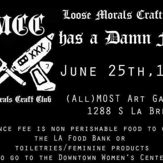 loose morals craft club