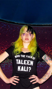 Who The Fuck Is Taleen Kali? x A Cruise Ship in the Pacific Ocean