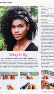 Bust Magazine DIY Aurora Lady