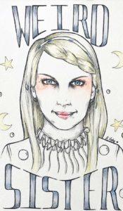 aurora lady weird sister