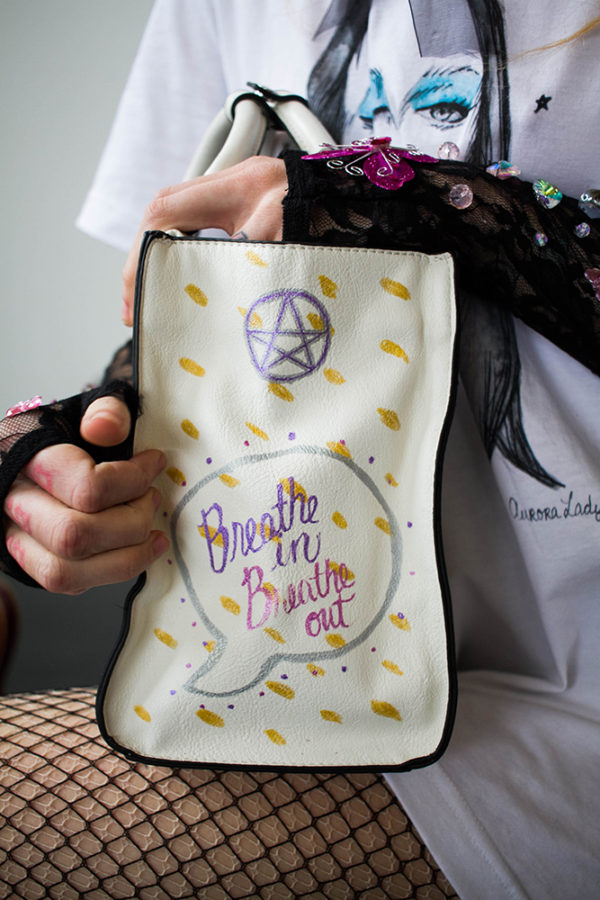 powerful witch purse aurora lady school of life design