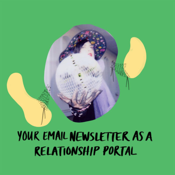 Your Email newsletter as a relationship portal aurora lady