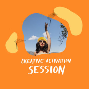 creative activation session aurora lady
